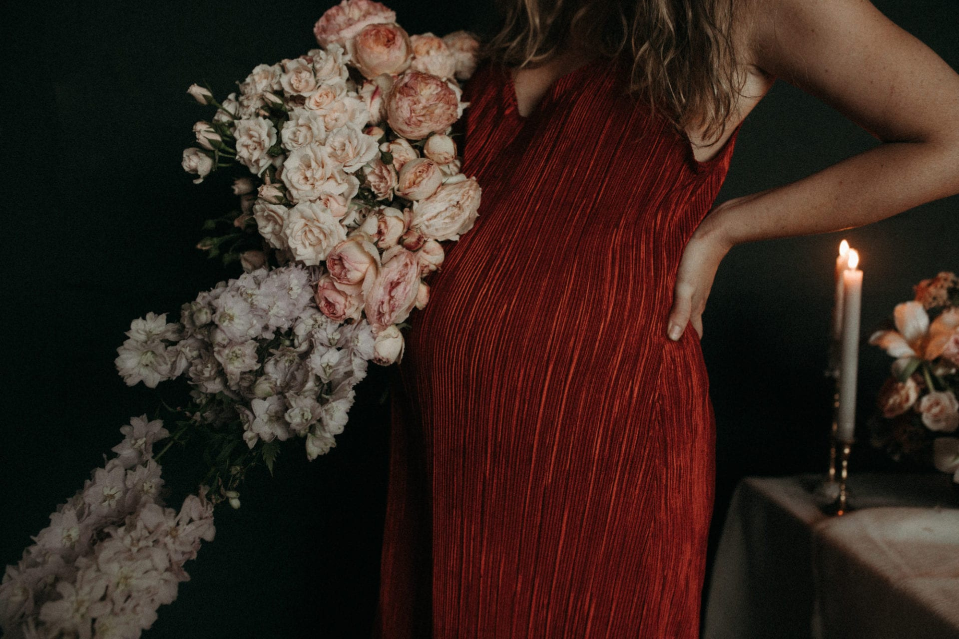 Momma Florist: 34 Weeks Pregnant - Adore Weddings