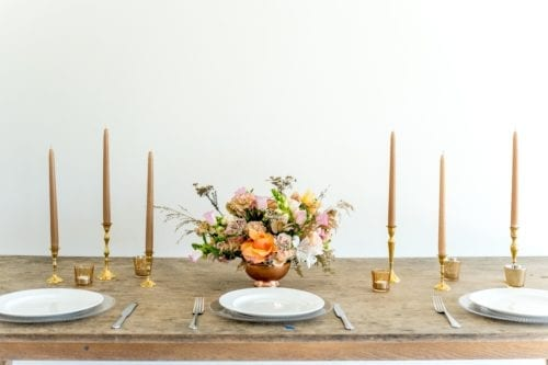Adore Weddings A La Carte Seasonal Table Florals