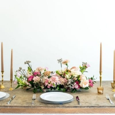 Floral Table garland Adore Weddings A La Carte Collection