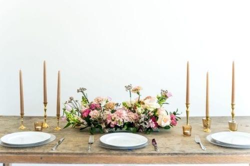 Floral Table garland Adore Weddings A La Carte Collection