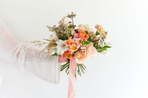 Al La carte Seasonal Bridesmaid Bouquet