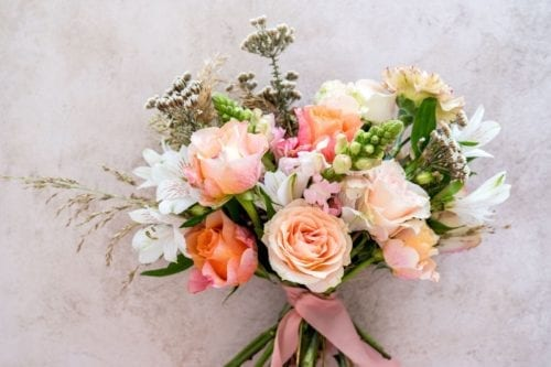 A La carte Seasonal bridesmaid Bouquet Adore Weddings