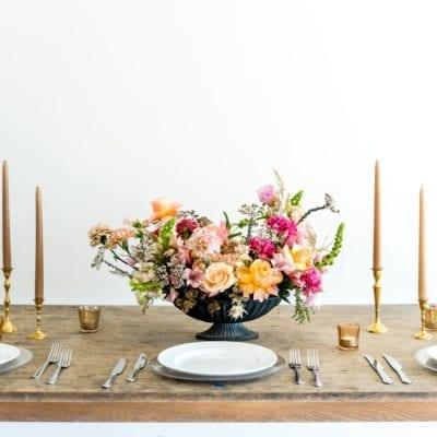 Adore Weddings Seasonal A La Carte Table Arrangement